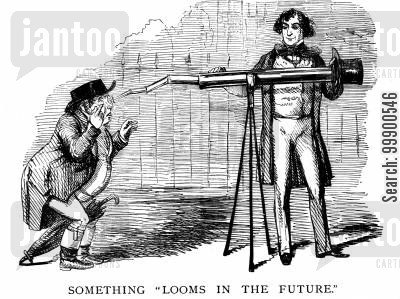 free trade cartoon humor: Disraeli's Empty Promises to Agriculture