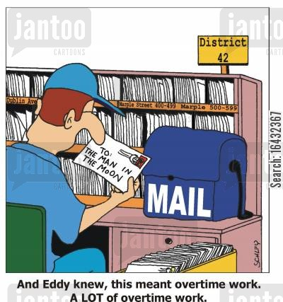 extra work cartoon humor: And Eddy knew, this meant overtime work. A LOT of overtime work.