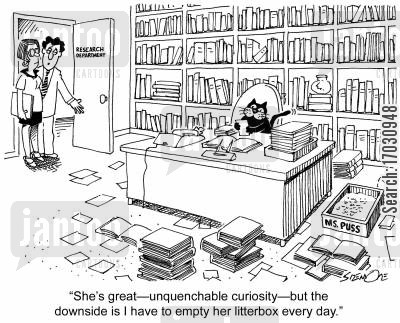 research and development cartoon humor: 'She's great
