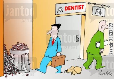 tooth fairy cartoon humor: Dentist.