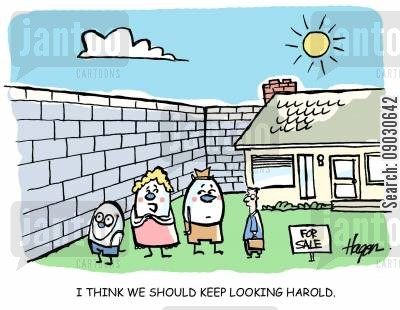buys cartoon humor: 'I think we should keep looking Harold.'