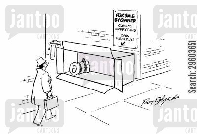 pavements cartoon humor: For sale.
