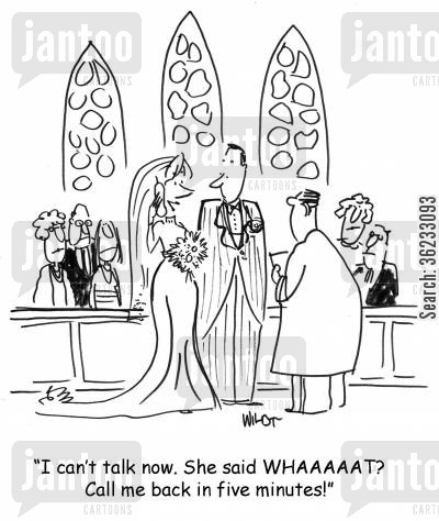 hot gossip cartoon humor: I can't talk now. She said WHHHAT?? Call me back in five minutes!