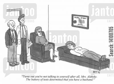 neglect cartoon humor: Turns out you're not talking to yourself ...