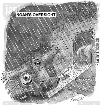 monsters inc cartoon humor: Noah's Oversight