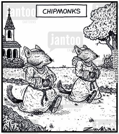 chipmunk cartoon humor: Chipmonks.