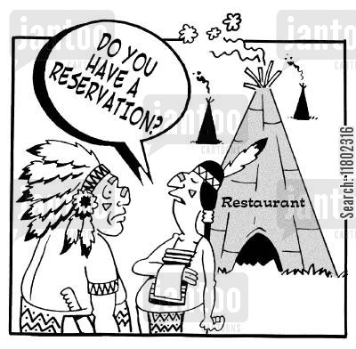indian restaurants cartoon humor: 'Dou you have a reservation?' Indian restaurants.