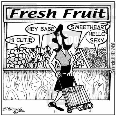 fresh fruits cartoon humor: Fresh Fruit