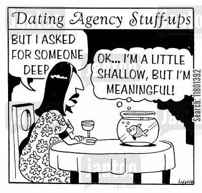 depth cartoon humor: OK, I'm a little shallow, but I'm meaningful.