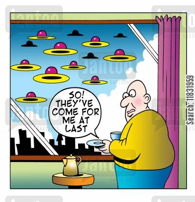cup and saucer cartoon humor: So...they've come for me at last.