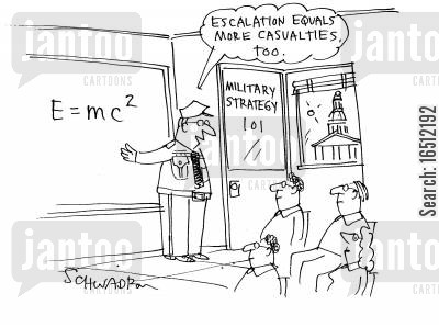 case study cartoon humor: E=MC2