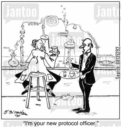 Protocol Cartoons Humor From Jantoo Cartoons