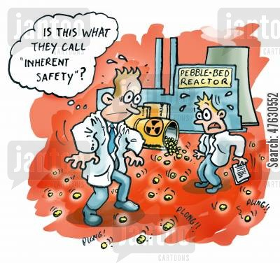 nuclear energy cartoon humor: Is this what they call inherent safety?
