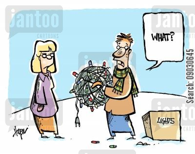 homely cartoon humor: 'What?'
