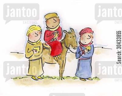 joseph cartoon humor: Three Wise Men