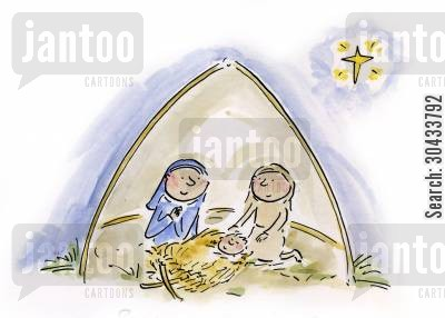 joseph cartoon humor: Nativity