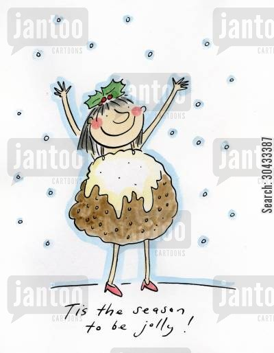 christmas pud cartoon humor: Tis the Season to be jolly!