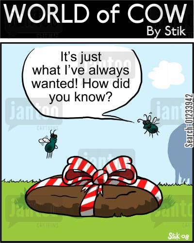 birhtdays cartoon humor: It's just what I've always wanted! How did you know?