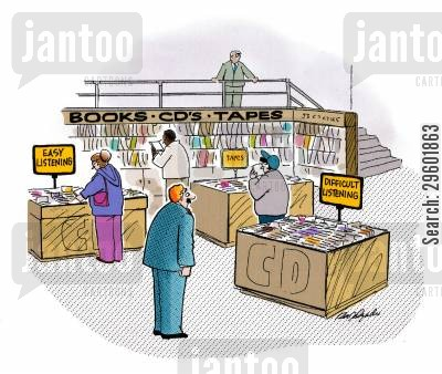 tapes cartoon humor: Books-CDs-Tapes.