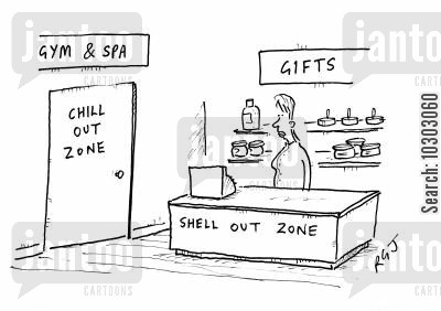shelling out cartoon humor: Chill Out ZoneShell Out Zone.