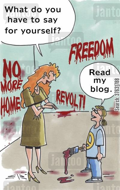blogs cartoon humor: