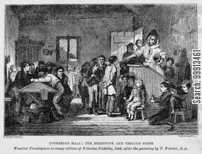 Dotheboys Hall: The Brimstone and Treacle Scene