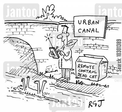 canals cartoon humor: Urban Canal