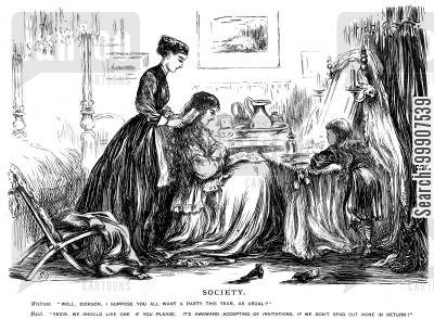 Society - Maid and the Lady.