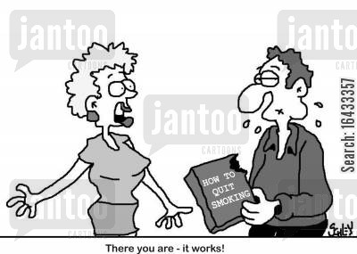 packet cartoon humor: 'There you are - it works!'