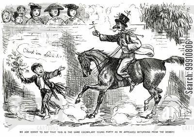 exemplary cartoon humor: Pompous horse rider pt. 2