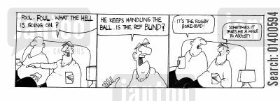 fouls cartoon humor: Sometimes it takes me a little while to adjust!