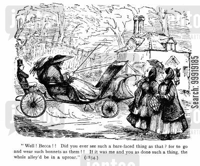 victorian fashions cartoon humor: Fashions
