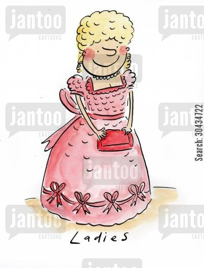 aristocrat cartoon humor: Ladies