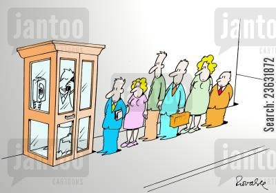telephone box cartoon humor: Phone.