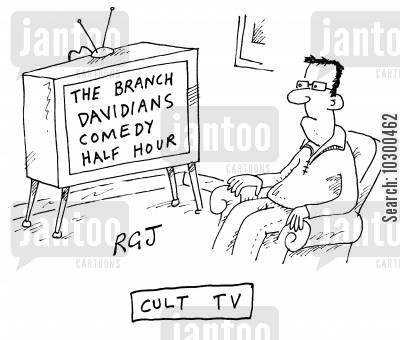 cult television cartoon humor: Cult TV