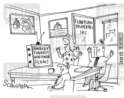 scams cartoon humor: America's funniest investment scams