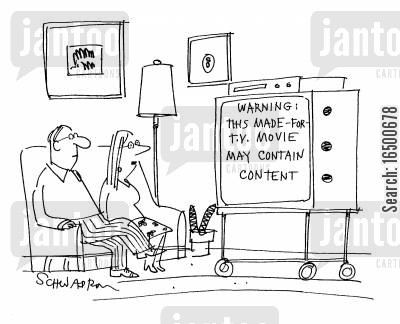 made for tv movies cartoon humor: Warning: This made-for-tv movie may have content.