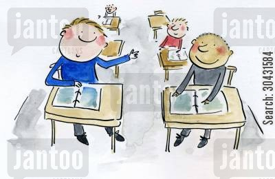 school lesson cartoons - Humor from Jantoo Cartoons