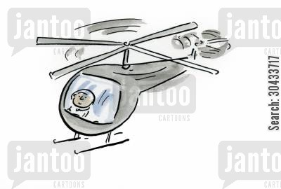choppers cartoon humor: Helicopter