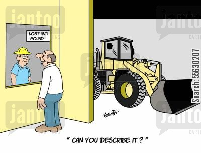 heavy equipment operator cartoon humor: Can you describe it?