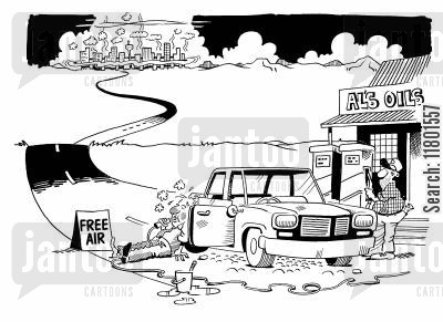 contingent cartoon humor: Al's Oils