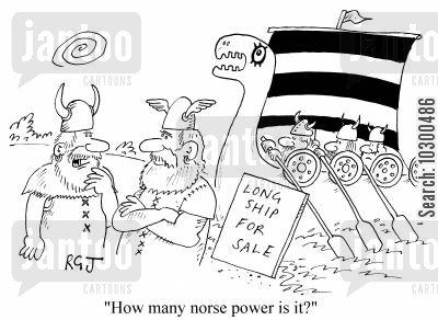 horse power cartoon humor: How many norse power is it?