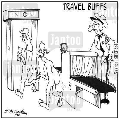 travel buffs cartoon humor: Travel Buffs