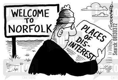 ramble cartoon humor: Places of dis-interest - Norfolk.