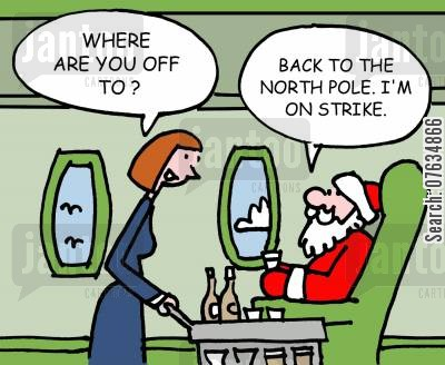 cabin crews cartoon humor: Where are you off to?