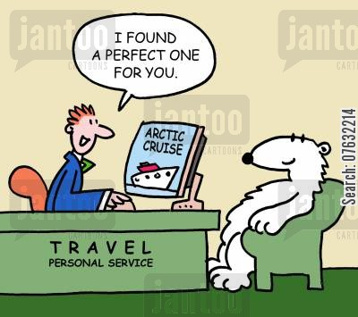 arctic cruise cartoon humor: I found a perfect one for you.