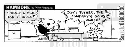prospects cartoon humor: STRIP Hambone: Advice giving computer