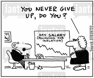 persevered cartoon humor: 'You never give up, do you?'