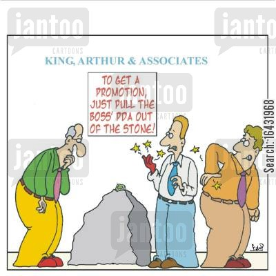 career ladder cartoon humor: How to get a promotion