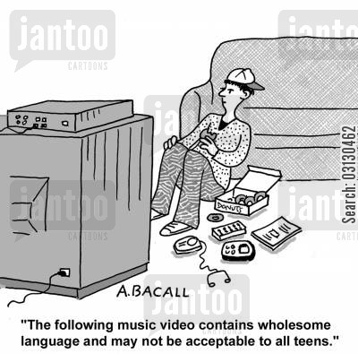 music video cartoon humor: The following music video contains wholesome language...